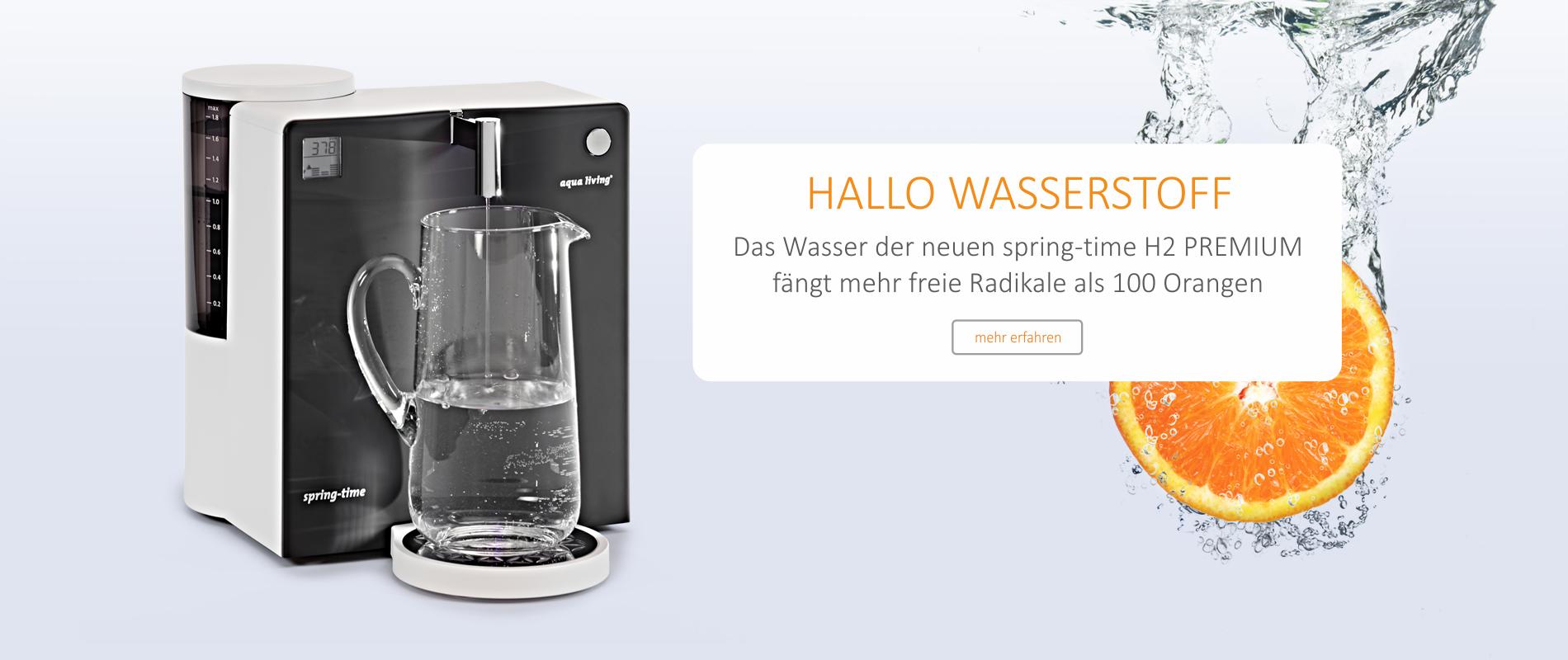 Slider 4 spring-time premium Wasserstoff